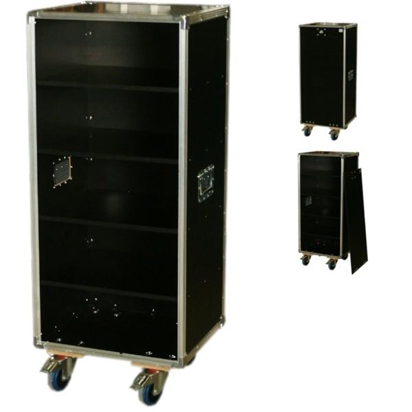 """Schrankcase """"Profi"""" für Prospekte mit vier Fachböden BxTxH: 540 x 465 x 1263 mm"""