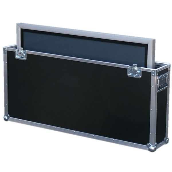 "Flightcase für 50' Plasma ""Slim"" BxTxH: 1374 x 214 x 834 mm"