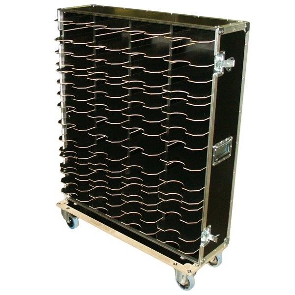 Schrankcase mit 4x13 variablen Fachböden BxTxH: 960 x 350 x 1245 mm