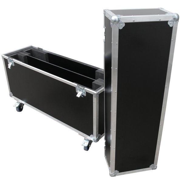 """Flightcase für zwei 42' Displays """"Economy"""" BxTxH: 1170 x 409 x 925 mm"""