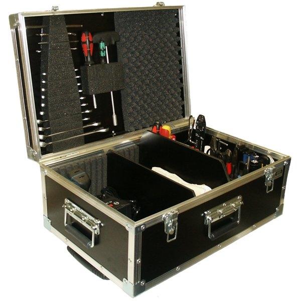 Werkzeugkoffer mit Trolley BxTxH: 594 x 394 x 264 mm