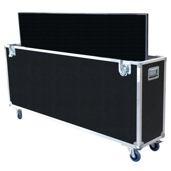 "Flightcase für 80' Display ""Standard"" BxTxH: 2005 x 390 x 1348 mm"