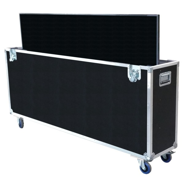 "Flightcase für 75' Display ""Standard"" BxTxH: 1820 x 390 x 1215 mm"