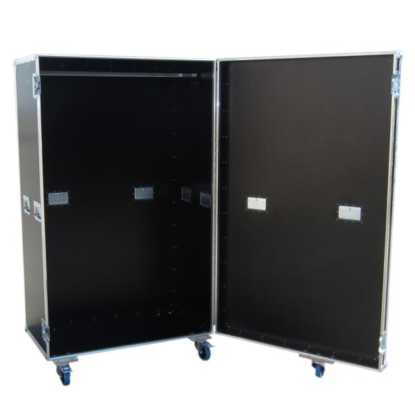 Garderobencase mit Kleiderstange BxTxH: 1040 x 640 x 1773 mm