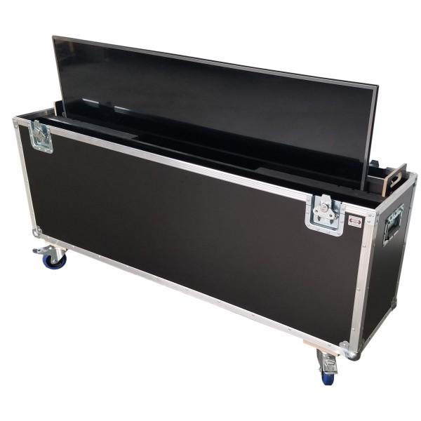 "Flightcase für ca. 50-60' Displays ""Variabel plus"" BxTxH: 1560 x 390 x 1065 mm"