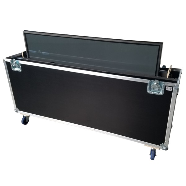 "Flightcase für ca. 60-70' Displays ""Variabel plus"" BxTxH: 1780 x 390 x 1185 mm"