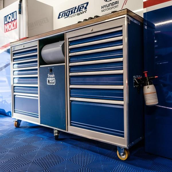 Flightcase für Werkzeug BxTxH: 1960 x 780 x 1236 mm