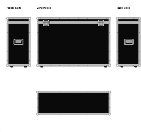"Truhe ""Profi"" BxTxH: 1200 x 400 x 800 mm"