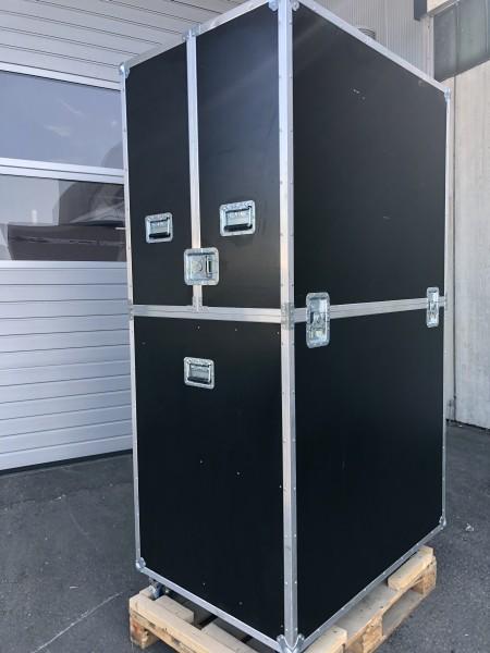 Gebraucht: Flightcase Sonderanfertigung BxTxH: 1200 x 825 x 2163 mm
