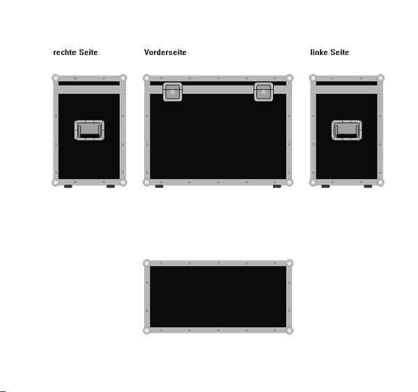 "Truhe ""Profi"" BxTxH: 800 x 400 x 600 mm"