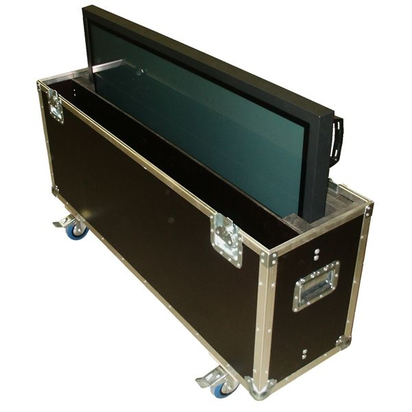 "Flightcase für 55' Display ""Standard"" BxTxH: 1540 x 390 x 1045 mm"