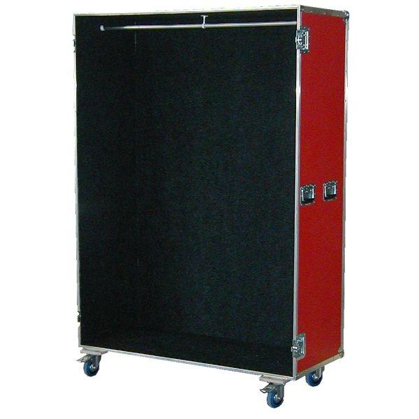 Garderobencase mit Kleiderstange BxTxH: 1200 x 640 x 1925 mm