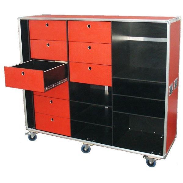 "Schrankcase ""Profi"" mobiles Büro BxTxH: 1725 x 524 x 1504 mm"